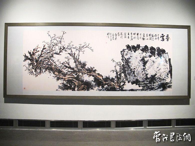郭石夫大写意花鸟画展