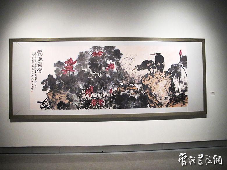 郭石夫大写意花鸟画展 第5页 联系人 杨之 13501296373